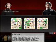 PC GAME - INTERROGATION SCREEN
