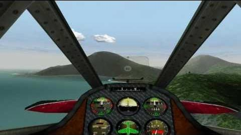 Crimson Skies Playthrough (PC) Mission 1 HARDEST mode (The lost treasure)