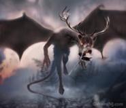 Demonio de Jersey volando