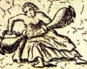 Temperantia Papstgrab Bamberg aus Gottfried Henschen u Daniel Papebroch 1747.jpg