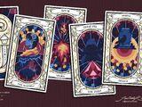 Mollymauk Tealeaf's tarot deck