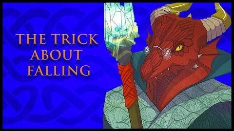 Critical Role RPG Show Episode 5 The Trick about Falling