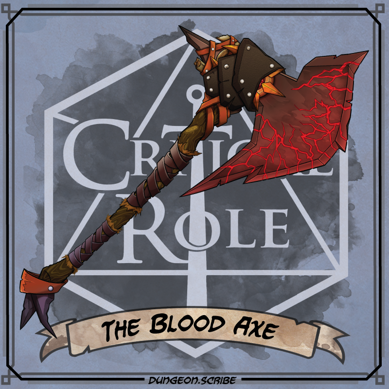 Bloodaxe Critical Role Wiki Fandom Once it has been used, it cannot be used again until 2 days have passed. bloodaxe critical role wiki fandom