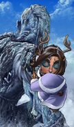 Veth shooting the frost giant - Hierothraxs