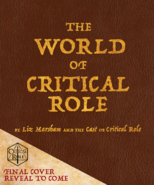 The World of Critical Role ebook cover