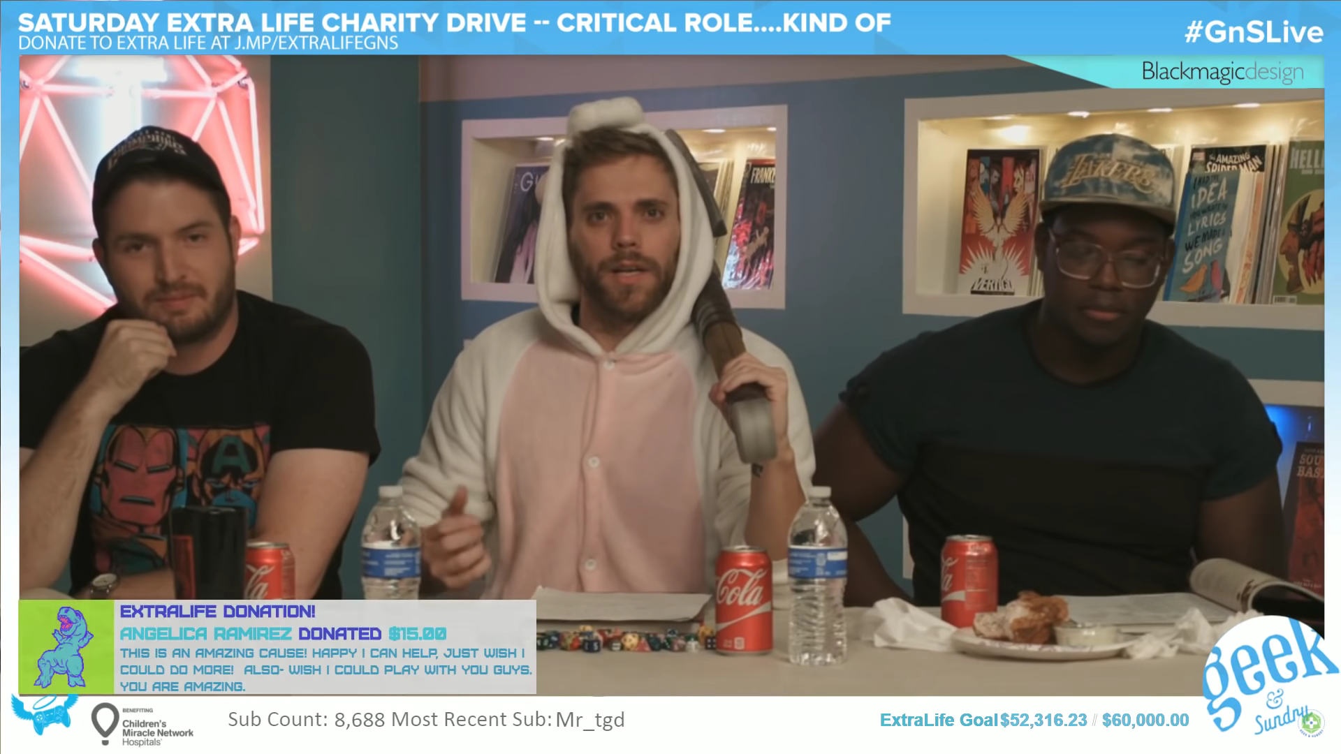 Critical Trolls for Extra Life