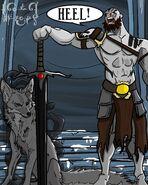 Grog and the wolf - Nathan Gutke