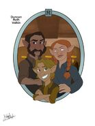 Duncan, Ruth, and Valkin - Kileigh Gallagher