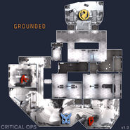 Grounded map