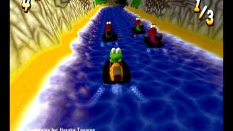 Croc_2_(PC)_-_Sailor_Village_-_Croc_VS._Dantini_Boat_Race
