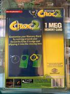 Croc2 Memory card backing