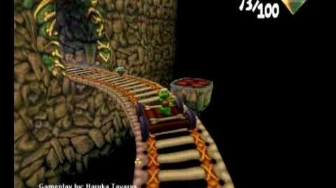 Croc 2 (PC) - Caveman Village - Jigsaw Piece