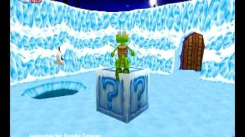 Croc_Legend_of_the_Gobbos_(PC)_-_Island_2_Boss_1_(Chumly's_Snow_Den)