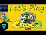 Let's Play Croc 2- Demo