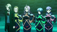 Cross Ange ep 20 Embryo and the Diamond Rose Knights Extended Version