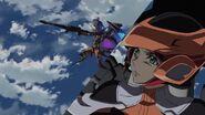 Cross Ange ep 19 Ersha piloting Raziya