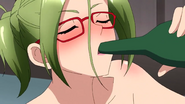 Cross Ange ep 18 Drunk Emma Close-up Extended Version