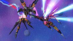 Cross Ange ep 25 Salamandinay's Enryugo destroys Ersha's Raziya.jpg