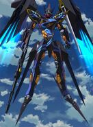 Cross Ange ep 17 Cleopatra Full-body Extended Version