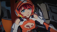 Cross Ange ep 24 Mary piloting Glaive Mary Extended Version