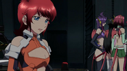 Cross Ange ep 22 Mary crying Extended Version