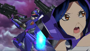 Cross Ange ep 23 Nonna and Hauser Nonna Extended Version