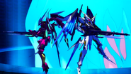 Cross Ange ep 24 Enryugo and Villkiss Destroyer Mode Extended Version