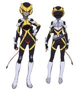 Ilma Uniform Front Back