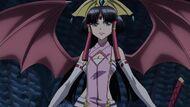 Cross Ange ep 15 Princess Salamandinay with DRAGON Wings