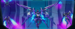 Cross Ange ep 23 Embryo Hysterica Mode and Diamond Rose Knights Extended Version.png