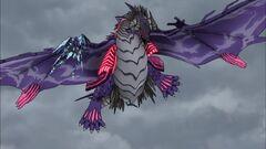 Cross Ange ep 03 Galleon-class DRAGON fighting.jpg
