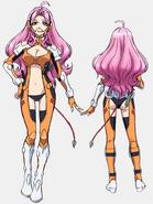 Ersha Uniform Front Back