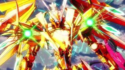 Cross Ange ep 11 Gold Enryugo with Space-time Convergence Cannons.jpg