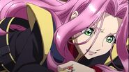 Cross Ange ep 22 Ersha being deceived by Embryo