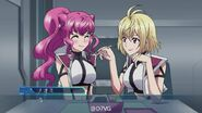 Naomi and Ange in Cross Ange TR.