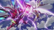 Cross Ange ep 11 Villkiss and Enryugo Destroyer Mode