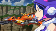 Cross Ange ep 21 Mary and Nonna Extended Version