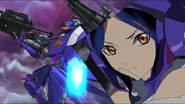 Cross Ange ep 23 Nonna piloting Hauser Nonna Extended Version