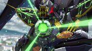 Cross Ange ep 21 Theodra's Beam Rifle
