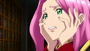 Cross Ange ep 22 Ersha Crying Close-up Extended Version