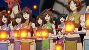 Cross Ange ep 15 People of Aura in Festival