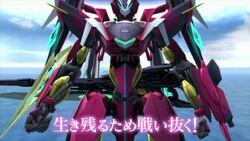 Enryugo gameplay scene in Cross Ange TR..jpg