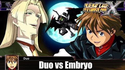 SRW X Duo vs Embryo|スパロボX:デュオVSエンブリヲ