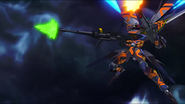 Cross Ange ep 23 Alektra's Ragna-mail Raziya Destroyer Mode Extended Version