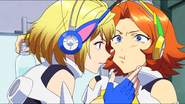 Cross Ange ep 4 Ange and Rosalie Extended Version