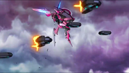 Cross Ange ep 23 Razor Destroyer Mode Extended Version