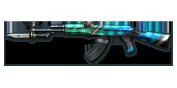 AK47-Knife Turtle Shell