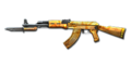 Ak47 knife yellowcrystal tc