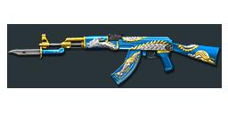 AK47-Knife Celestial Dragon