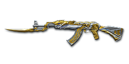 AK47-Knife Transformers Noble Gold